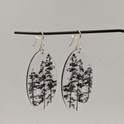 zilveren oorbellen boom2