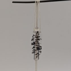 zilveren hanger, boom 2