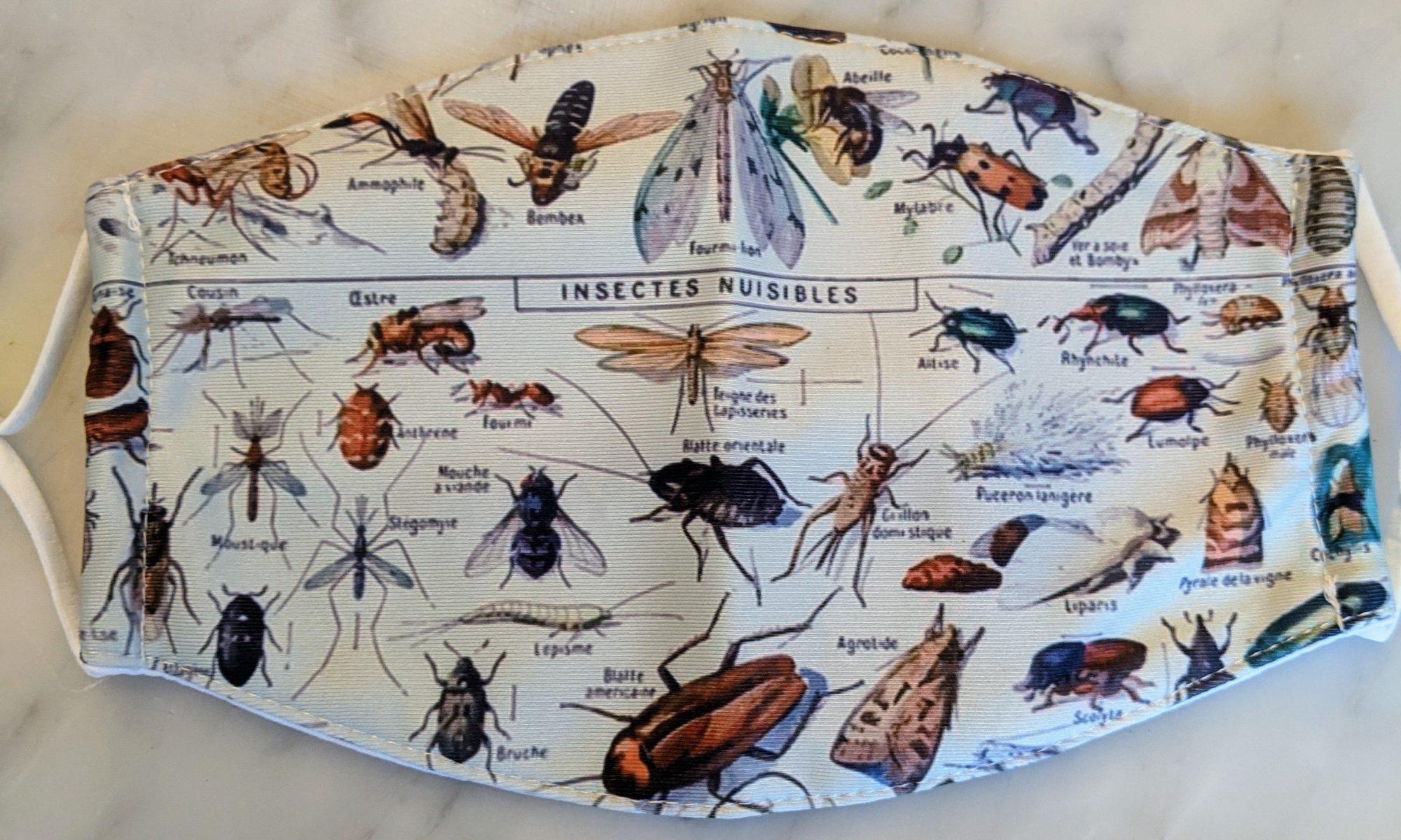 mondmasker insecten